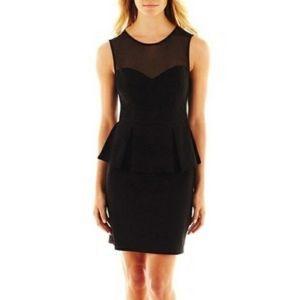NWT Bisou Bisou Black Cocktail Dress